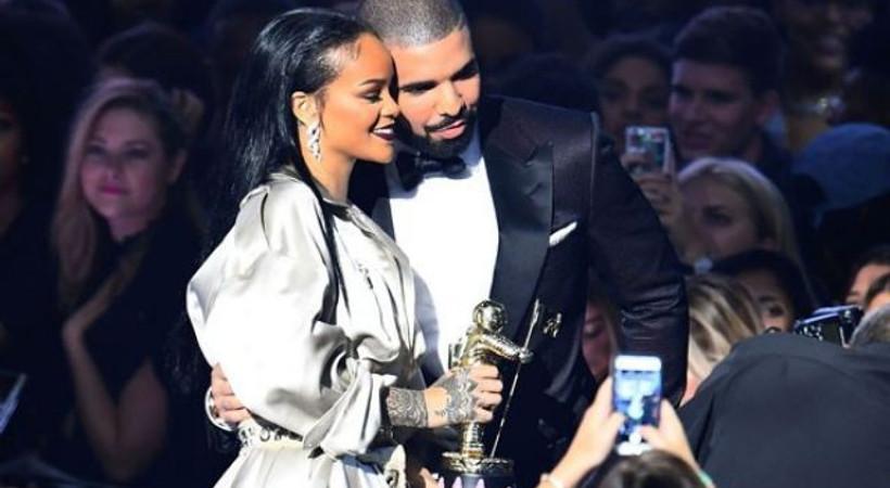 MTV ödül gecesine Drake ve Rihanna aşkı damga vurdu