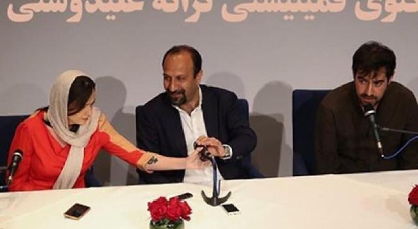 Cannes'daki bu fotoğraf İran'ı karıştırdı!