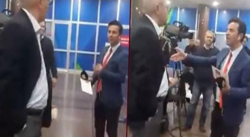 CHP milletvekili ile a Haber muhabiri arasında tartışma!