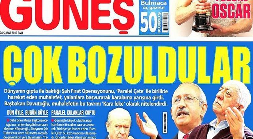 Güneş gazetesine yeni yazar