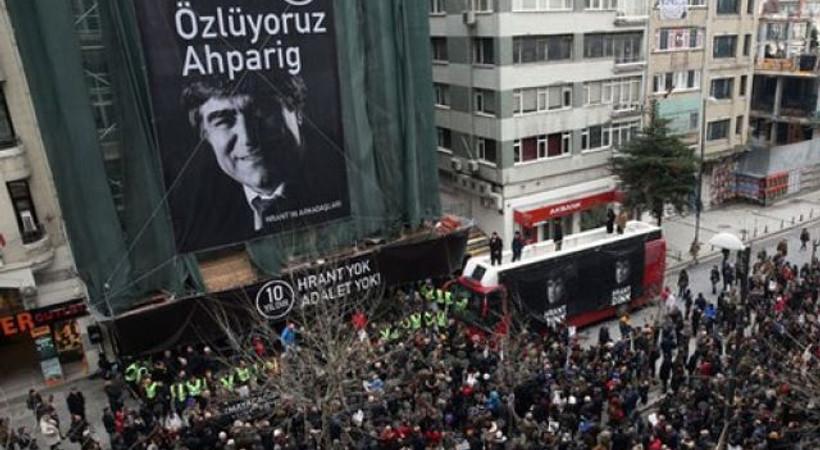Hrant Dink, ölümünün 10. yıldönümünde anıldı!