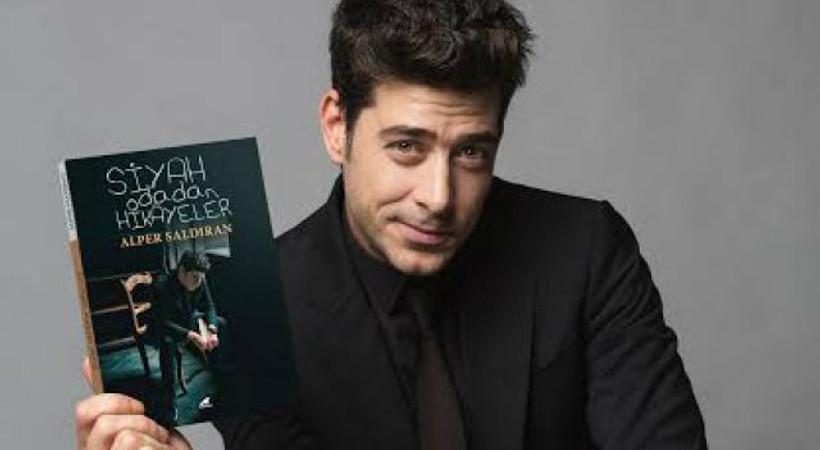 Ünlü oyuncunun ikinci kitabı Siyah Odadan Hikayeler çıktı!