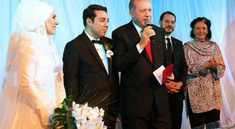 Ünlü sanatçı kızını evlendirdi, şahidi Cumhurbaşkanı Erdoğan oldu