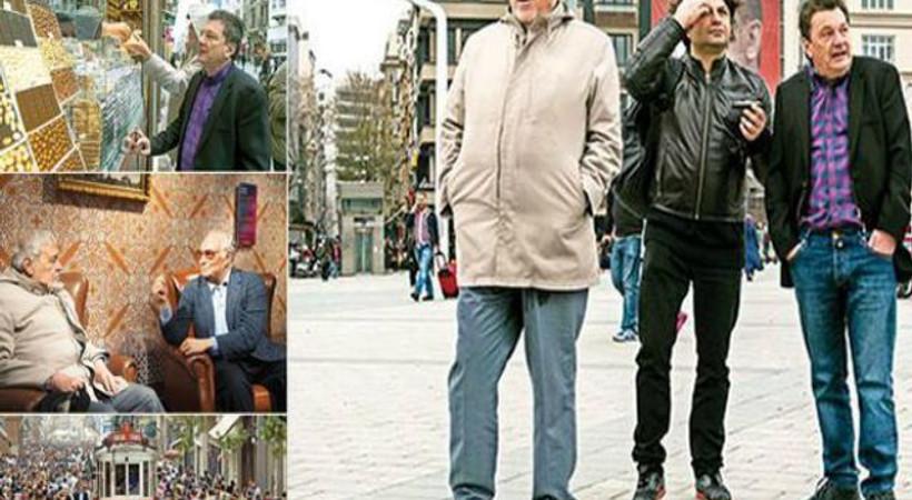 Milor ve Ortaylı Beyoğlu'nda: Bildiğim şehir değil, Orta Asya'da bir yerlere benzemiş