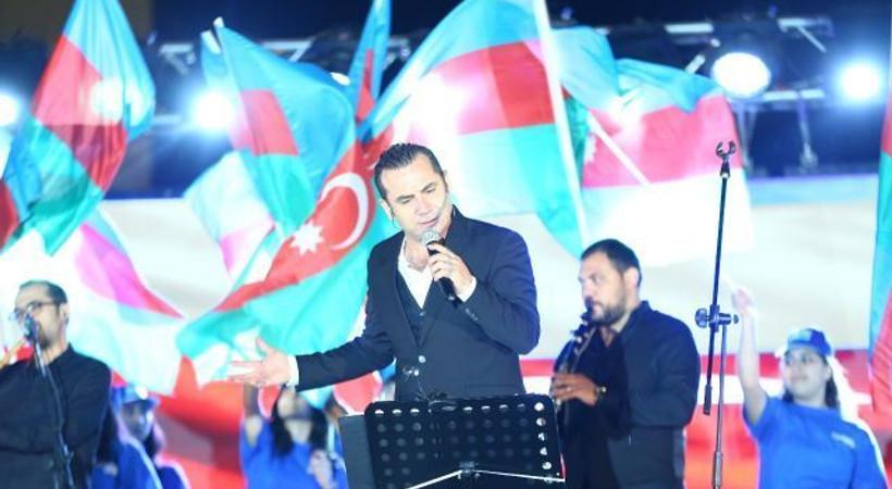 Ferhat Göçer yeni yaşını Azerbaycan'da kutladı!