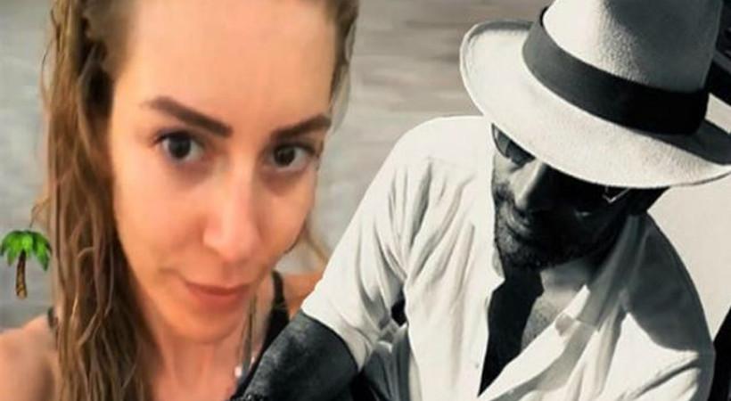 Sinem Kobal'dan aşk paylaşımı! 'Benim erkeğim...'