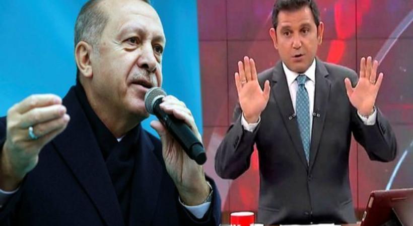 Cumhurbaşkanı Erdoğan'dan Fatih Portakal'a bir tepki daha!