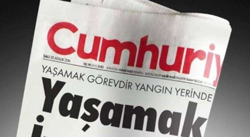 Cumhuriyet Gazetesi'nden 2019 sürprizi!