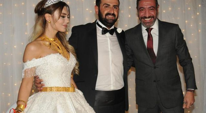 Ünlü şarkıcının kızı evlendi! Kilo kilo altın taktılar
