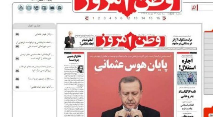 İran basını: İmparator Erdoğan kaybetti