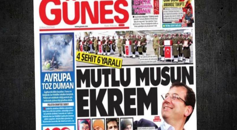 CHP'den Güneş gazetesine sert tepki!