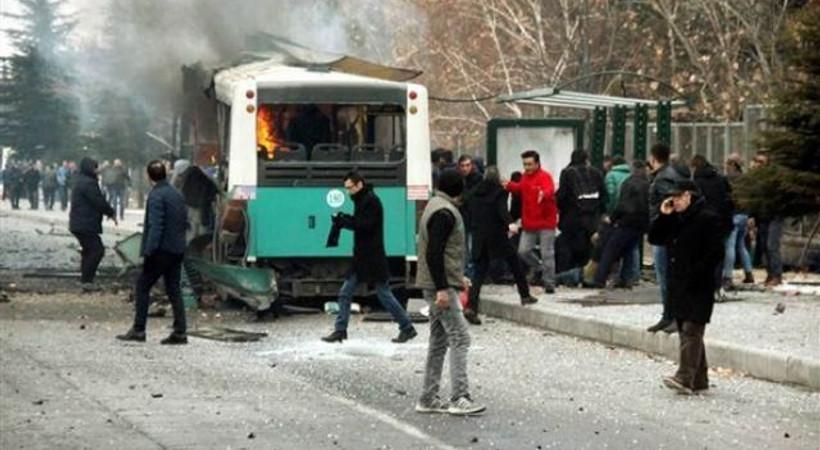 Kayseri'deki patlamada 13 şehit, 48 yaralı!