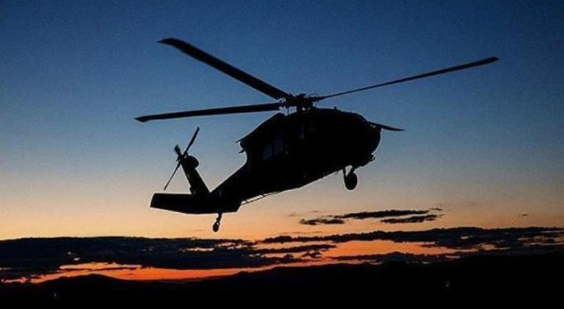 Suudi prens ve üst düzey yetkilileri taşıyan helikopter düştü