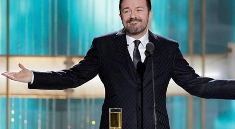 Ricky Gervais Altın Küre Ödülleri öncesinde özür diledi!