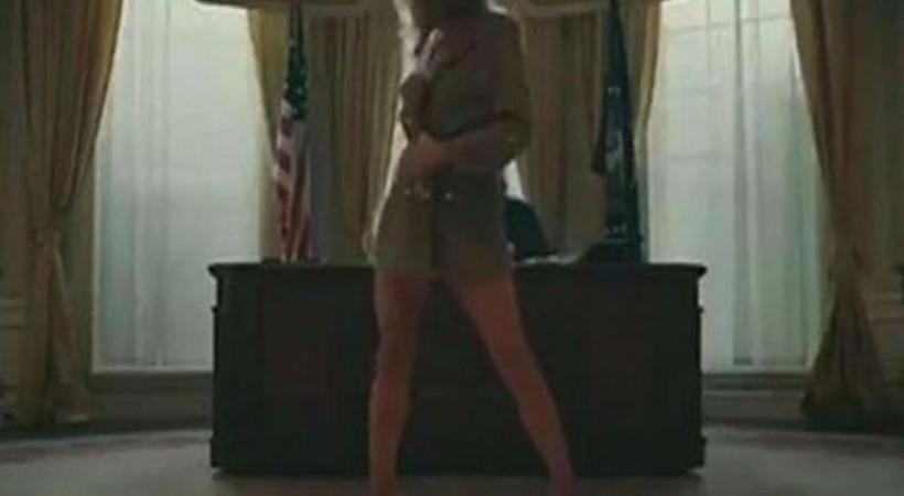 ABD'li rapçiden tepki çeken Melania Trump klibi