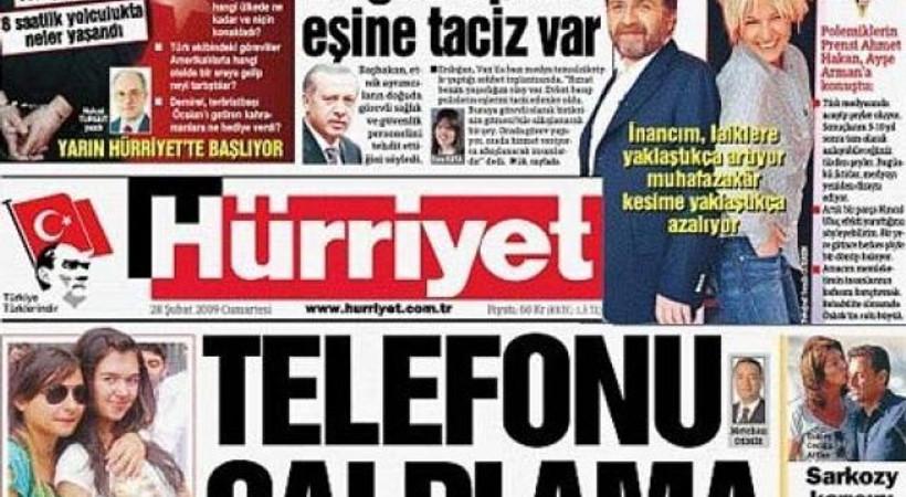 Hürriyet 'Karaman' iddianamesi haberi için özür diledi!