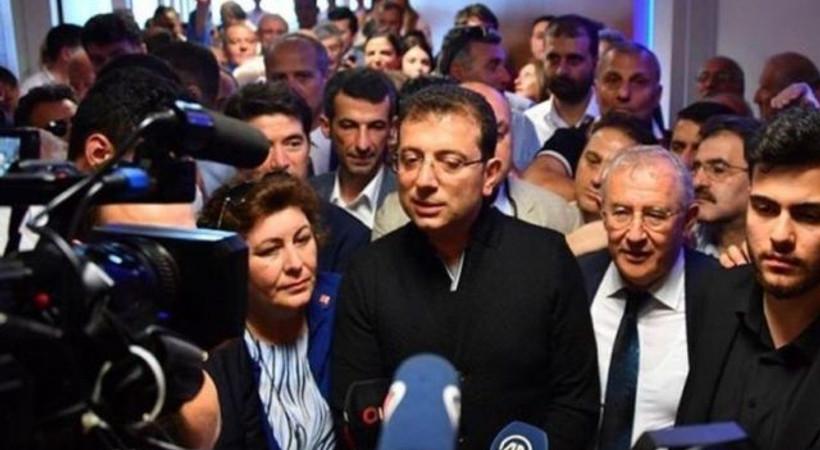 Haber Global İmamoğlu'nun VIP salonu önündeki sözlerini yayınladı