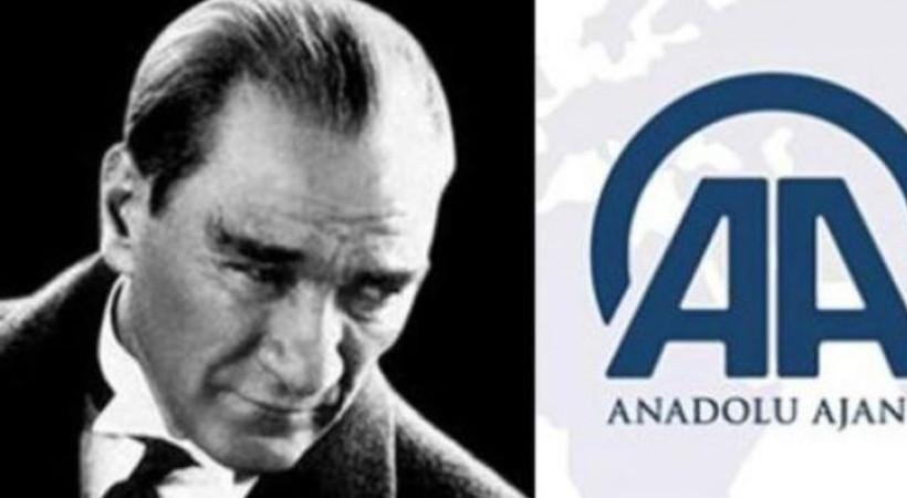 Anadolu Ajansı, Atatürk'ü hatırladı