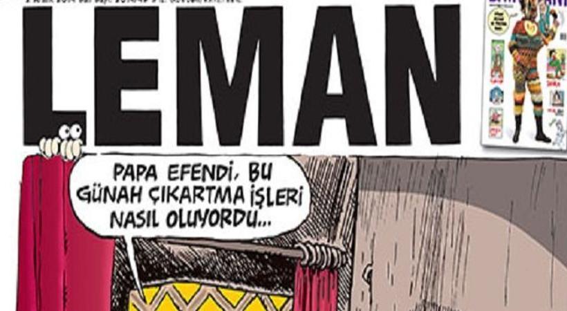 Papa geldi, Erdoğan günah çıkarmak istedi. LeMan'dan olay kapak!