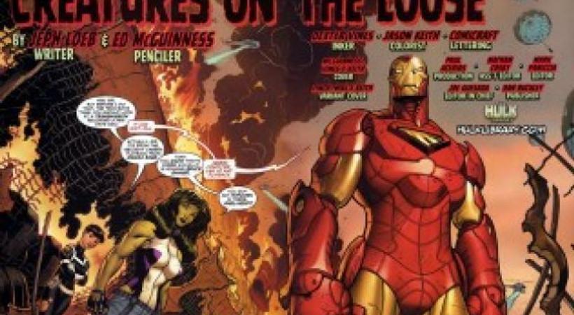 Iron Man'in yeni versiyonu'nu bir Türkiyeli çizecek