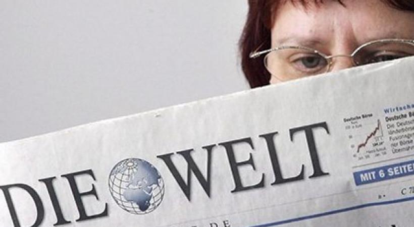 Die Welt gazetesi, 3 kare ile Türkiye'deki trajediyi yazdı!