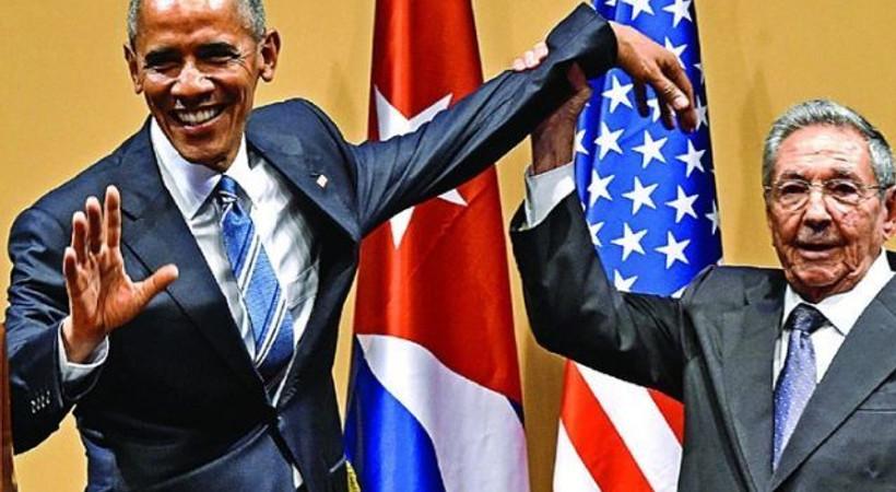 Dünya gündemine bomba gibi düştü: Castro'dan Obama'yı şoke eden hareket!