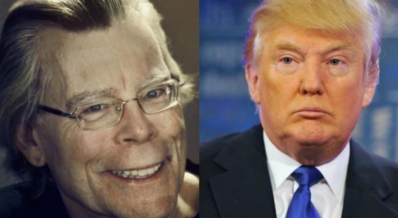 Donald Trump, dünyaca ünlü yazar Stephen King'i Twitter'da engelledi