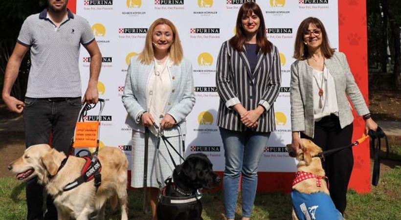 Nestlé Purina PetCare ve Rehber Köpekler Derneği, görme engelliler için umut oluyor