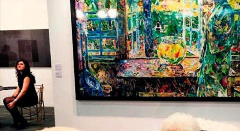 'Arap Baharı' sanat fuarında!