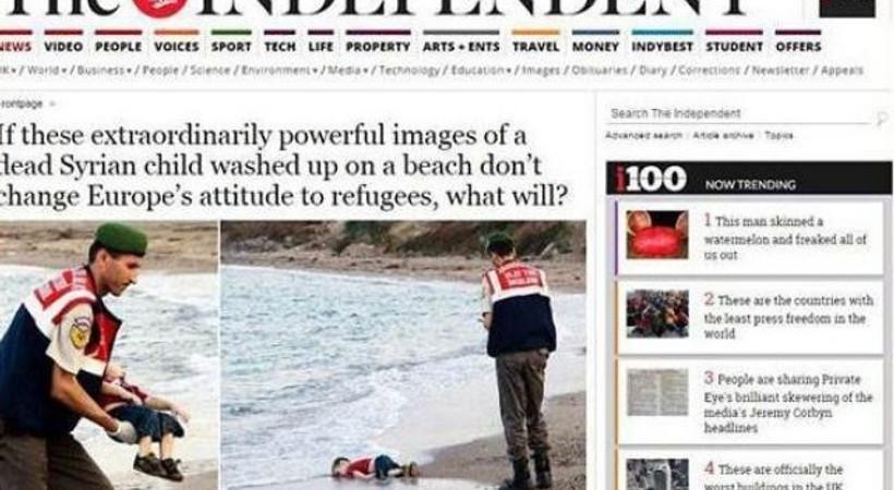 O fotoğraf Türkiye'yi ve dünyayı ikiye bölmüştü! İşte, yayın kuruluşlarının kararı!