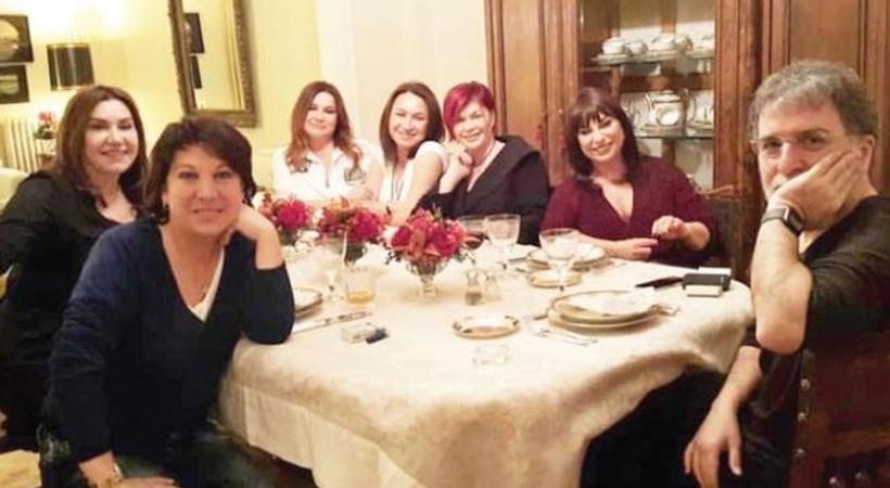 Ahmet Hakan: Bir kadın muhabbetinin tam ortasına düştüm