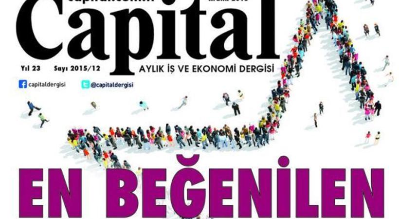 Capital Dergisi Türkiye'nin en beğenilen şirketlerini açıkladı