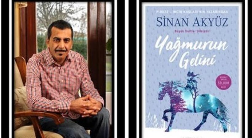 Yazar Sinan Akyüz'den yeni roman!
