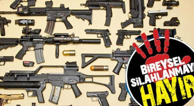 Sosyal medya üzerinden silah satışı yapanlara operasyon!