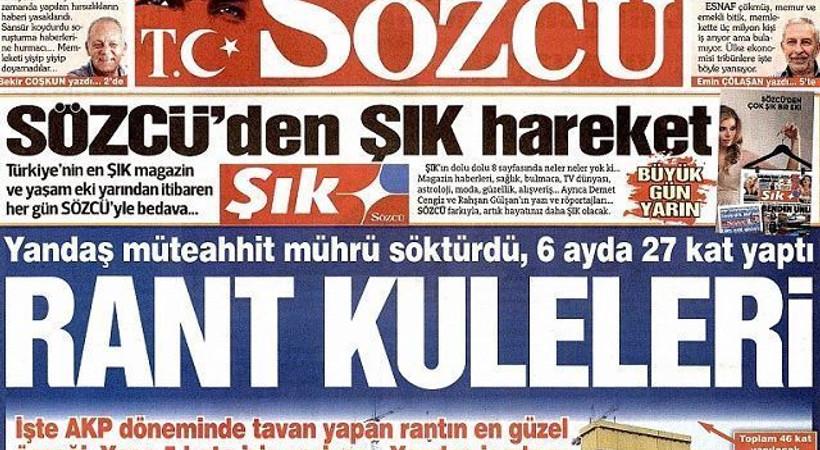 2 yıldır Şık'ta yazıyordu... O köşe yazarı Sözcü'ye böyle veda etti!