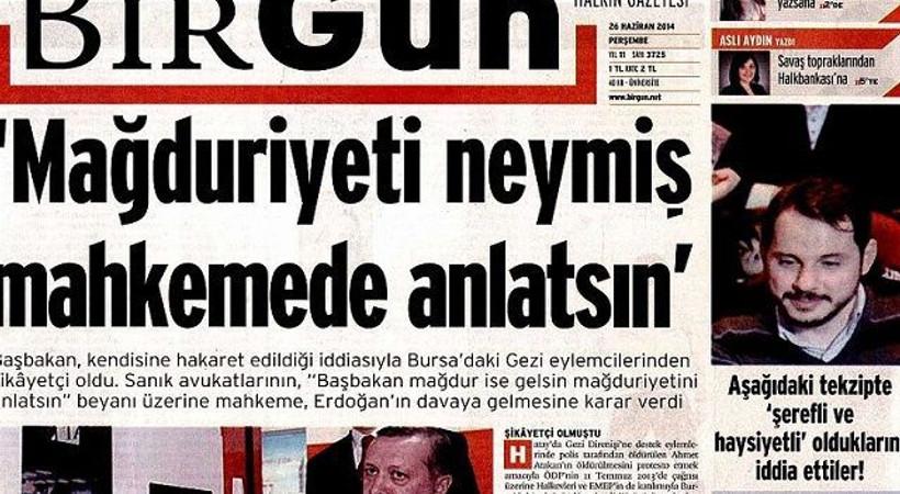 Erdoğan'ın damadından BirGün'e tekzip