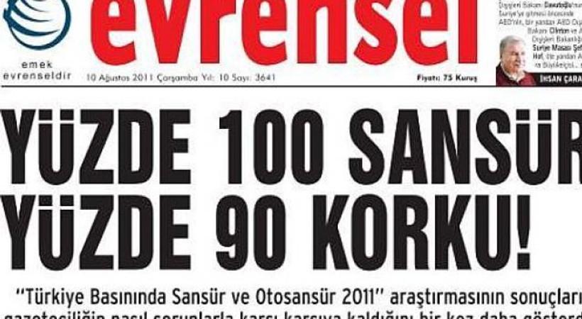Evrensel'e 'Gollum-Erdoğan' soruşturması!