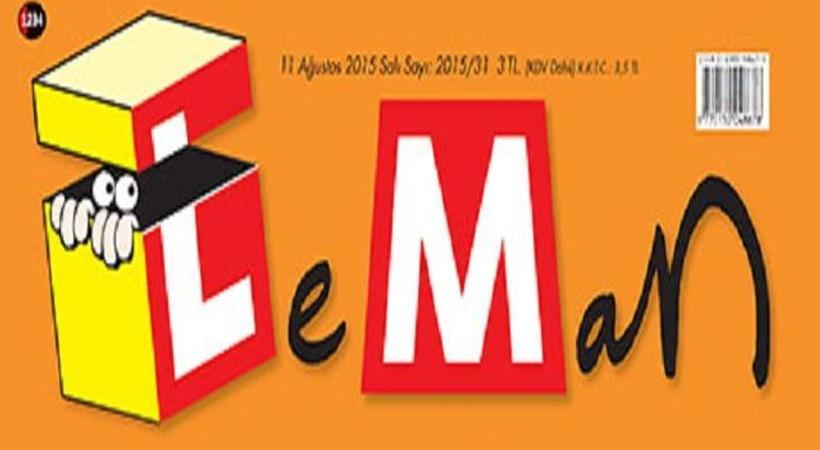 Skandal görüntüler LeMan'ın kapağına taşındı