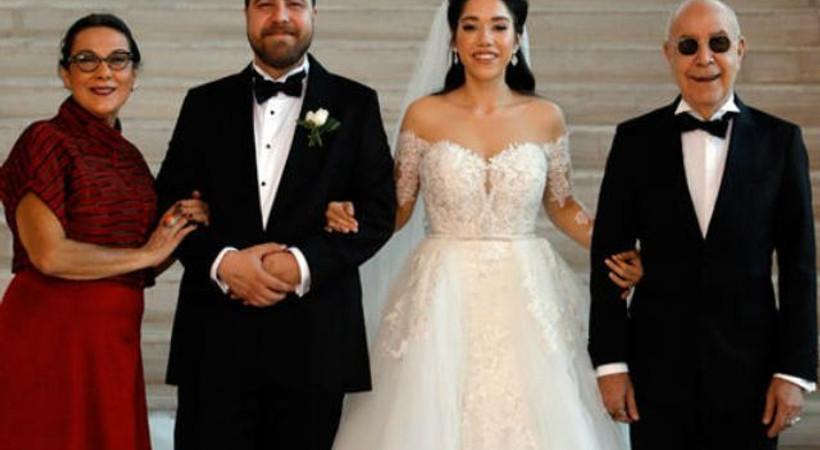 Mazhar Alanson'un mutlu günü... Oğlunu evlendirdi!