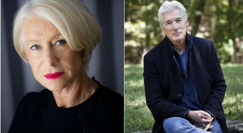Helen Mirren ve Richard Gere, 'En güzel yaş alan ünlü' seçildi!
