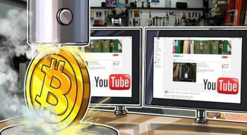 Youtube'da Bitcoin virüsü