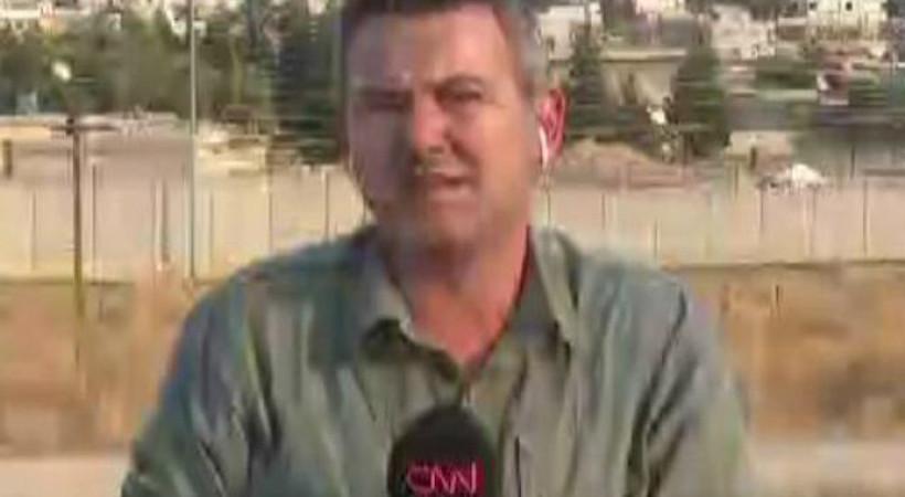 CNN Türk yayını sırasında Resulayn'da patlama