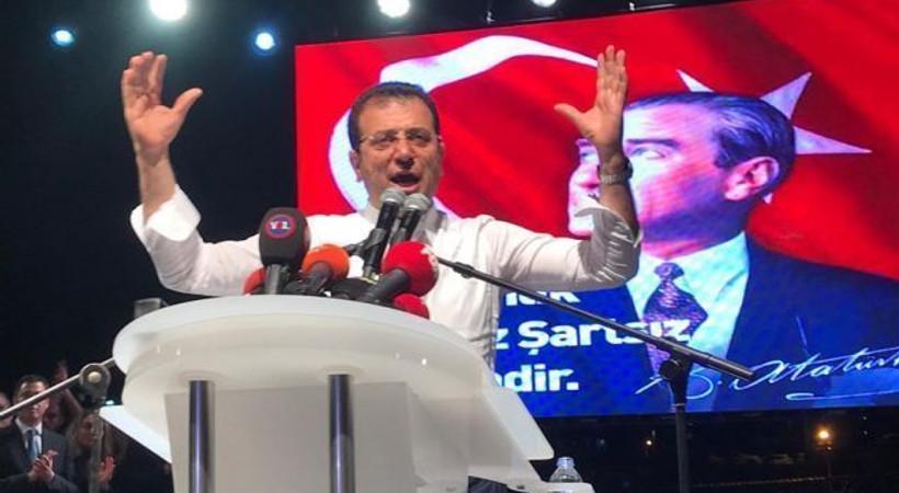 Ünlü sanatçıdan İmamoğlu'nun kampanyasına 100 bin TL bağış!