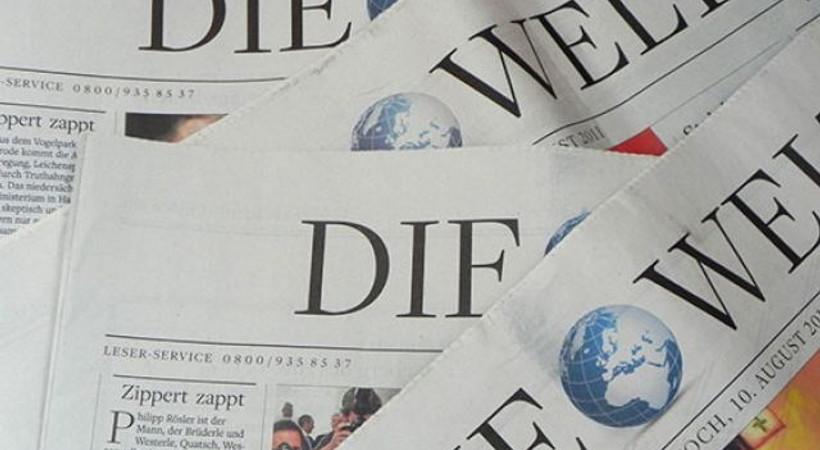 Alman Die Welt gazetesinden Türkiye'yle ilgili önemli iddia!