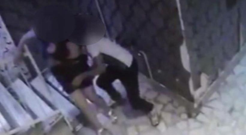 İstanbul'da adres soran kadına taciz kamerada!