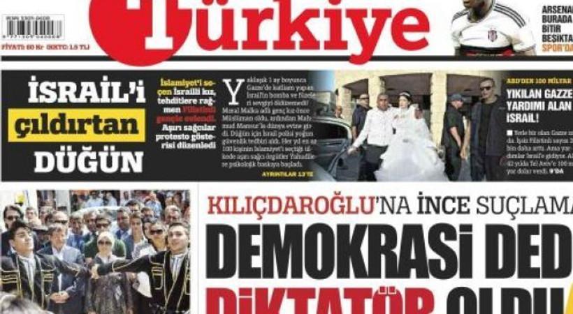 Türkiye Gazetesi HDP'nin tekzipini yayımlamadı