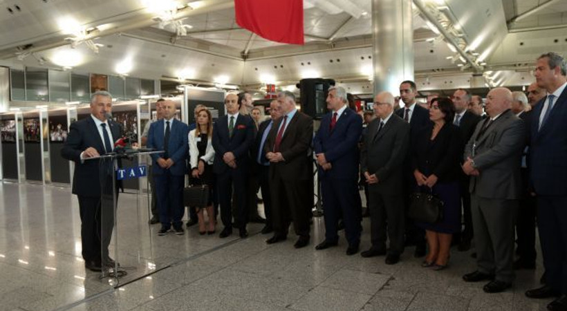 Atatürk Havalimanı'nda 15 Temmuz sergisi!
