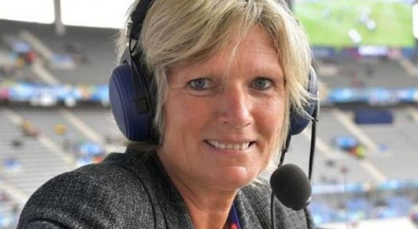 Euro 2016'yı anlatan kadın spikere hakaret yağdı!