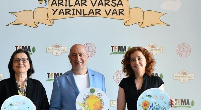 TEMA Vakfı, Balparmak ve Millî Eğitim Bakanlığı'ndan ortak proje!