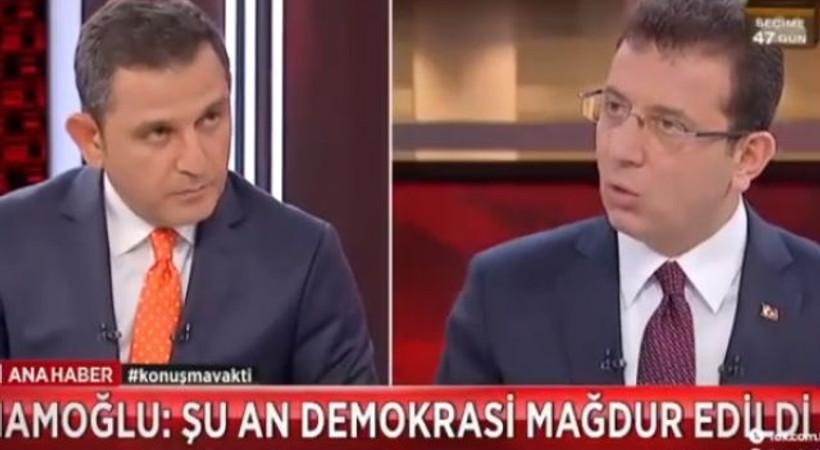 Ekrem İmamoğlu'nu konuk alan Fatih Portakal'la FOX Ana Haber, ratinglerde kendi rekorunu kırdı!